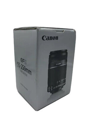 Canon EF-S 55-250mm f/4-5.6 IS II 100% Original Nuevo