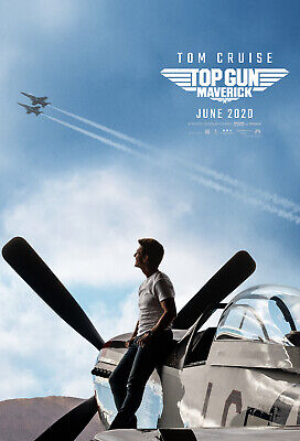 Top Gun Maverick -  original DS movie poster  D/S 27x40  Adv B - Tom Cruise