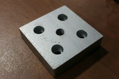 8020 Inc Aluminum 15 Series 3 x 3 Base Plate with 1/2-13 Tap #2140 ANO SC C3-02