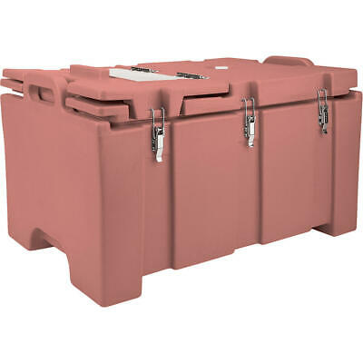 Cambro 40 Qt Cooler With Hinged Serving Lid Brick Red 100Mpchl-402