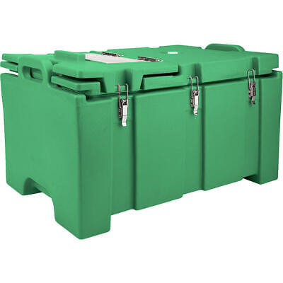 Cambro 40 Qt Cooler With Hinged Serving Lid Green 100Mpchl-519
