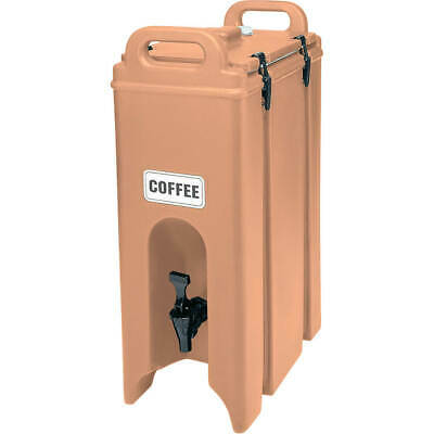 Cambro 4.75 Gal. Insulated Beverage Dispenser Coffee Beige 500Lcd-157