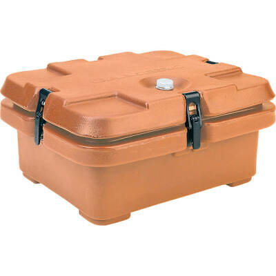 Cambro Top Loading Insulated Food Carrier, Half Size Pans Coffee Beige 240Mpc