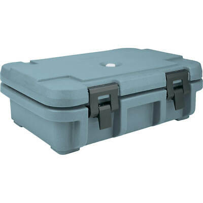 "Cambro Top Loading Insulated Food Carrier For 4"" Deep Pans Slate Blue Upc140-401"