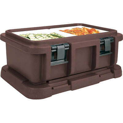 "Cambro Top Loading Insulated Food Carrier For 6"" Deep Pans Dark Brown Upc160-131"