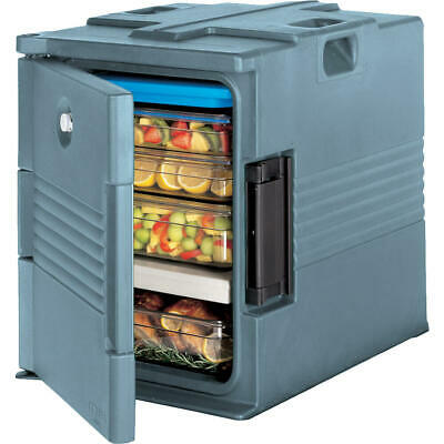 Cambro Ultra Insulated Food Carrier / Hot Box, Lockable Slate Blue Upc400Sp-401