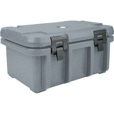 "Cambro Top Loading Insulated Food Carrier For 8"" Deep Pans Granite Gray Upc180"