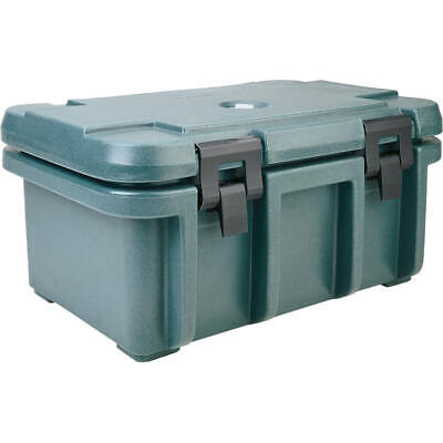 "Cambro Top Loading Insulated Food Carrier For 8"" Deep Pans Granite Green Upc180"