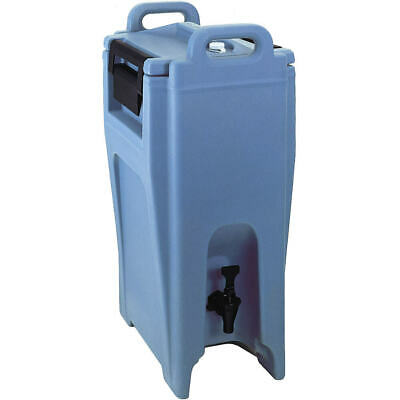 Cambro 5.25 Gal. Insulated Beverage Dispenser, Ultra Camtainer Slate Blue Uc500
