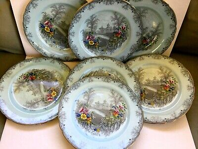 Antique porcelain plate ENGLAND