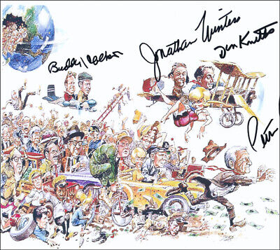 It''''s A Mad, Mad, Mad, Mad World Movie Cast - Autographed Signed Photograph