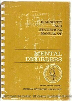 DSM-II Diagnostic and Statistical Manual of Mental Disorders (S. Edition) P.D.F