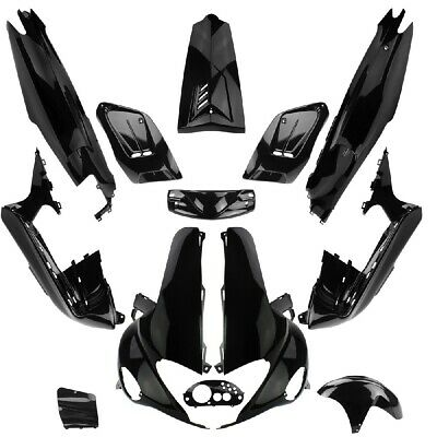 TNT Set 13 Fairings Car Body Gilera Runner Fx Fxr Vxr 1997-2004 50 125 180 Black