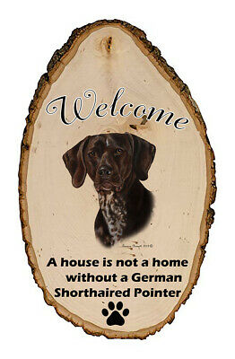 Outdoor Welcome Sign (TB) - German Shorthaired Pointer 51049