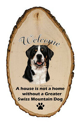 Outdoor Welcome Sign (TB) - Greater Swiss Mountain Dog 51144