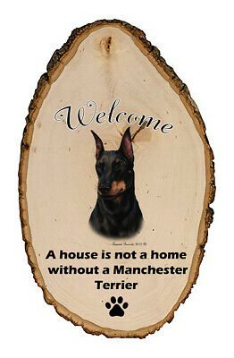 Outdoor Welcome Sign (TB) - Manchester Terrier 51249