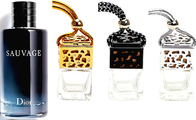 Dior Sauvage Inspired Car Air Freshener Scent Perfume Ornament Designer
