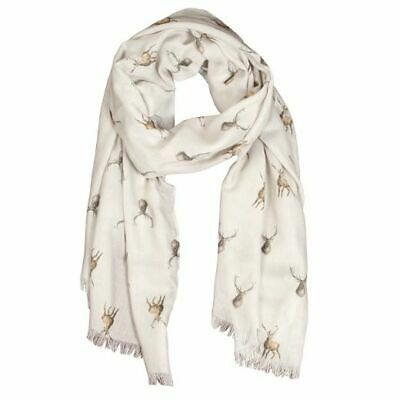 Wrendale Designs - 'Wild at Heart' Stag Scarf