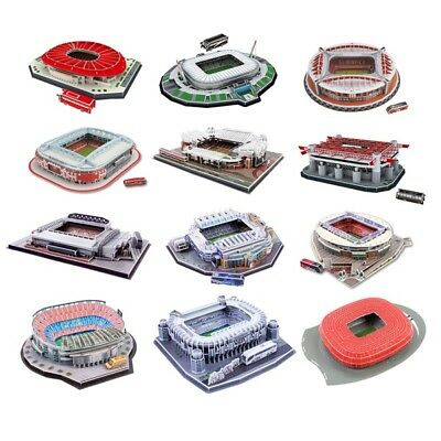 Football Club 3D Stadium Model Jigsaw Puzzle - Man Utd Liverpool Arsenal & More!