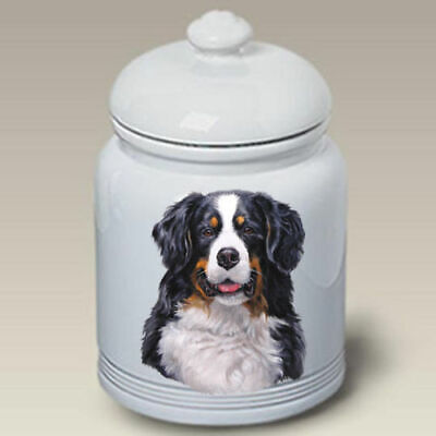 Bernese Mountain Dog Ceramic Treat Jar LP 45051