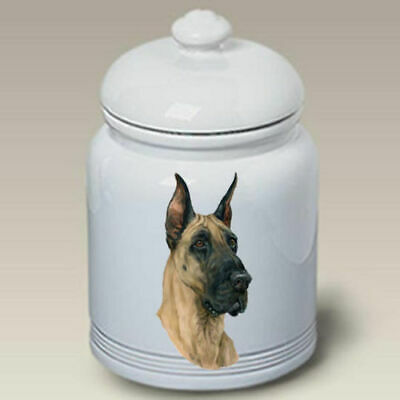 Great Dane Ceramic Treat Jar LP 45020
