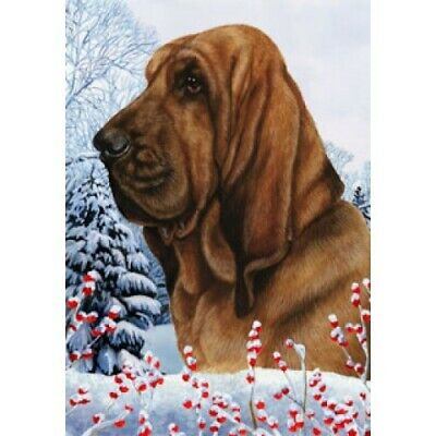 Winter House Flag - Bloodhound 15073