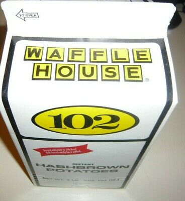 WAFFLE HOUSE Hashbrown Potatoes Instant 3 LB 5 OZ Hashbrowns Serves 30