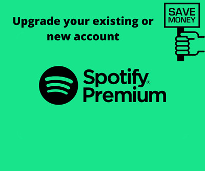 Spotify Premium Lifetime Instant Delivery New or Existing Account Upgrade