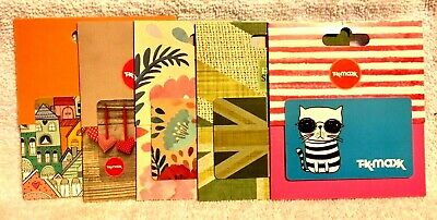 UK England Britain TK Maxx Home Sense Gift Cards - Collectible - Take Your Pick!