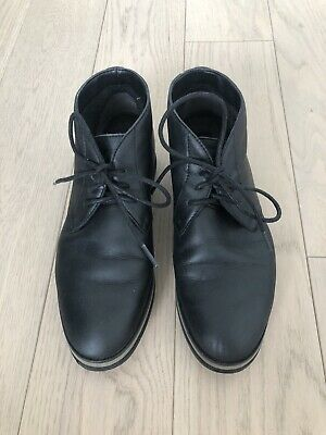 Women's Carlo Pazolini Fall Boots, 6.5 (37), Black Leather, Faux Fur, pair laces