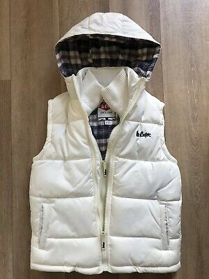 Lee Cooper Girls' Hoodie Vest Jacket Outerwear Age 9-10 Years GC