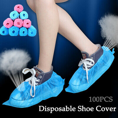 Dirt Non-woven Fabric Boot Covers Dustproof Disposable Shoe Covers Overshoes