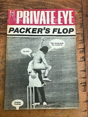 9th dec 1977 ( private eye  ) packers flop ( streaking )