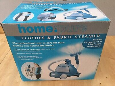 Homepure CLOTHES & FABRIC curtains/upholstery STEAMER excellent condition