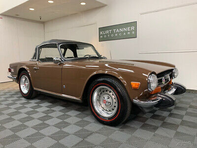 1974 Triumph TR-6 1974 TRIUMPH TR-6 1974 TRIUMPH TR-6. SIENNA BROWN ON BLACK. EXCELLENT ORIGINAL WITH 67,318 MILES.