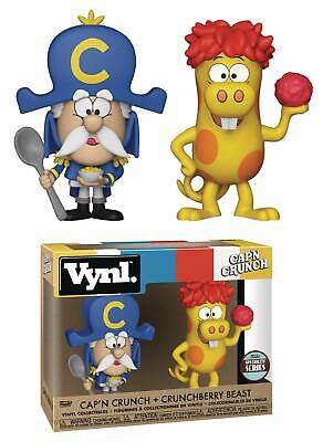 Quaker Oats CAP'N CRUNCH & CRUNCHBERRY BEAST Cereal Ad Icons 2-pack Funko Vynl
