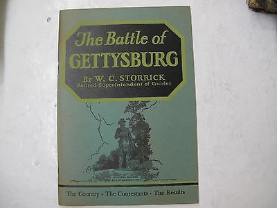 US Military History Civil War Guide Battle of Gettysburg Illus. Map Army 1957