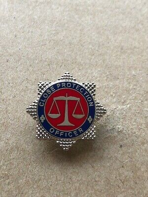 Close Protection Officer Pin Badge / Lapel Badge