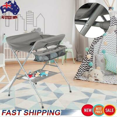 Multifunctional Baby Changing Table Folding New Infant Changing Diaper Table