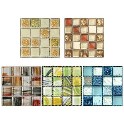 20pc Kitchen Tile Stickers Bathroom Mosaic Sticker Selfadhesive Home Wall Decor