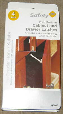 SAFETY FIRST CABINET AND DRAWER LATCHES Pivot Position Pro Grade Baby Child Lock