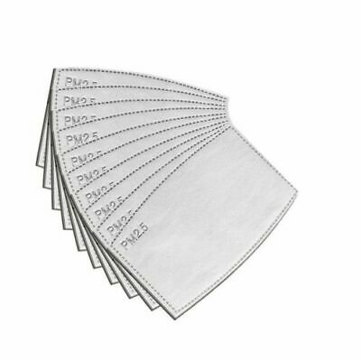 Pack of 5 Replacement/Changeable Active Carbon Filters 2.5m