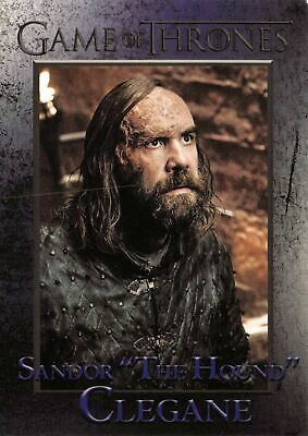 """THE  HOUND"" (Rory McCann) / Game of Thrones Season 8 (2020) BASE Card #37"
