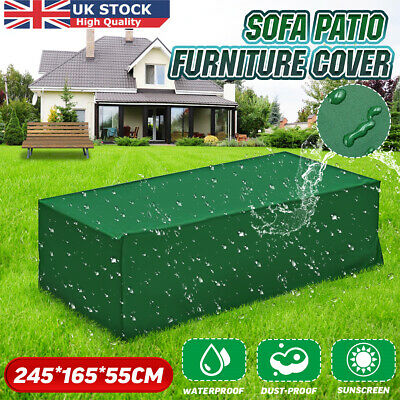 Waterproof Garden Furniture Cover Rectangle Outdoor Rattan Table Cube Protection