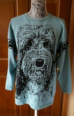 Golden Doodle Labradoodle dog sweater for people custom knitted