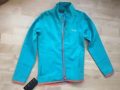 Gorgeous Girl's Softshell Turquoise Blue Jacket Age 9-10 BNWT Dare 2b Windproof