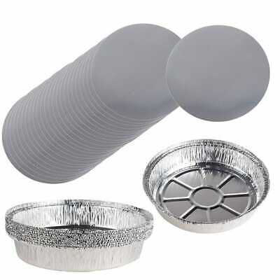 "8"" FOIL BOARD ROUND LIDS-513 - 1 Unit(s) Where Each  Unit Is 12 PK"