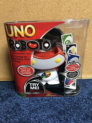Uno Roboto Game The Interactive Wild Card Change the Game
