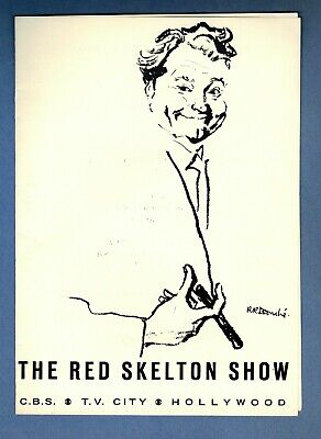 RED SKELTON  -  Program from his CBS TV Show - January 1970