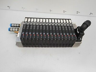 Bosch R480006670 Valve Terminal with 16 x 0820055052, 5/2 Directional Control
